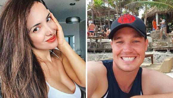 La modelo Rosángela Espinoza fue consultada sobre George Forsyth y Alejandra Baigorria, pero reveló la falta del alcalde de La Victoria. (@rosangelaeslo / @george.forsyth).