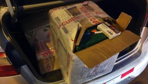 La PNP decomisó 222 paquetes de droga, los cuales hicieron un peso bruto de 230.630 Kg. (Foto: PNP)