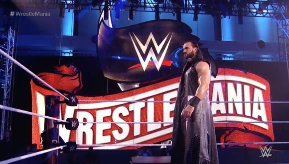 WrestleMania 36 se llevó a cabo en el Performance Center, en Orlando   Foto: WWE