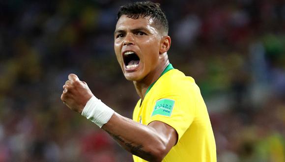 Thiago Silva volverá al equipo titular de Brasil ante Perú. (Captura: Getty Images)
