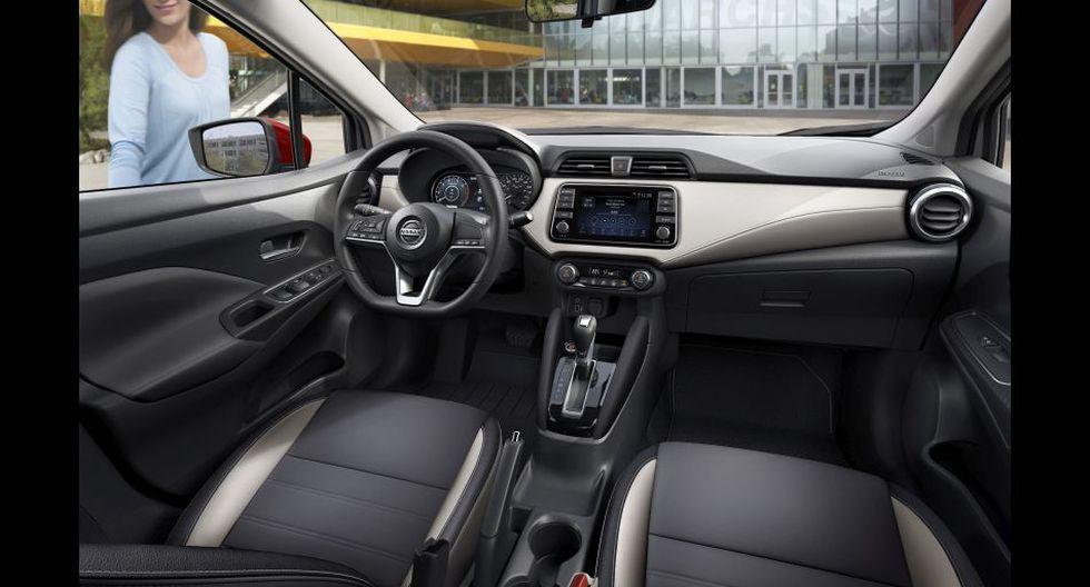 La nueva generación del Nissan Versa cuenta con acabados más sofisticados que su antecesor.