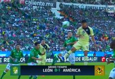 América vs. León EN VIVO: resumen completo del primer tiempo por el pase a la gran final | VIDEO