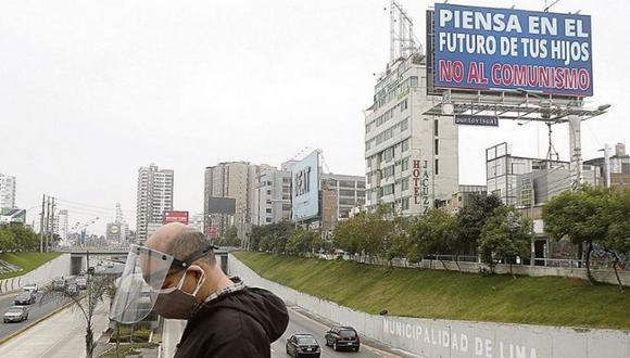 Su jefe, Piero Corvetto, señaló que también se ha solicitado que propietarios de las vallas informen sobre quién subvencionó los pagos. (Foto: Hechos.pe)