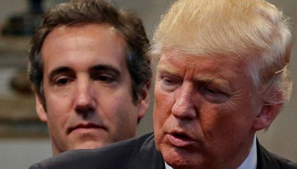 El abogado personal de Donald Trump, Michael Cohen, lo respaldó desde siempre. Ahora, Cohen se declaró culpable el martes de ocho cargos. (Foto: Reuters)