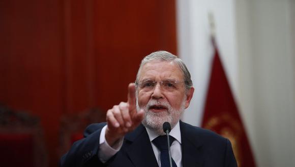 Ernesto Blume aseguró que es falso que se afirme que tendría una direccionalidad para llevar la ponencia sobre el caso de Keiko Fujimori. (Foto: GEC)