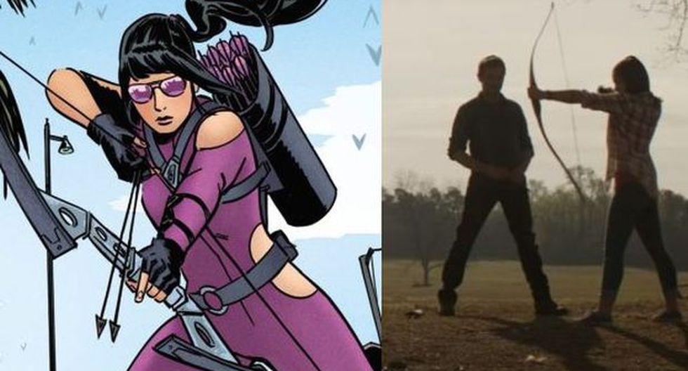 """""""Avengers: Endgame"""": ¿quién es Kate Bishop y por qué es tan importante para Hawkeye / Clint Barton? (Foto: Marvel Comics / Marvel Studios)"""
