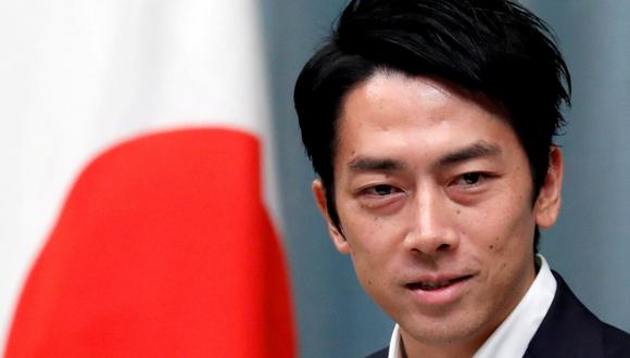 Shinjiro Koizumi se casó en agosto pasado con Christel Takigawa, y la pareja anunció recientemente que esperaba descendencia. (Foto: Reuters)