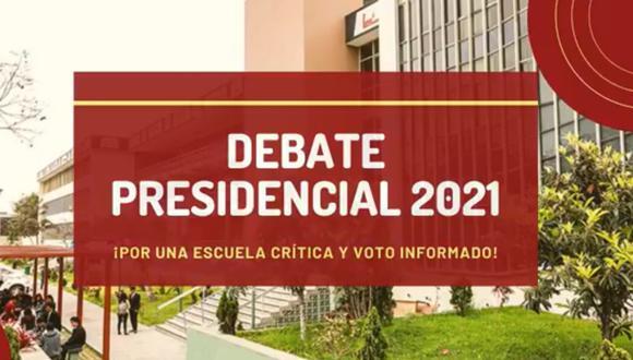 Este miércoles se llevó a cabo la segunda fecha del debate presidencial organizado por San Marcos. (Foto: RTV San Marcos)