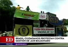 Brasil: ciudadanos piden la destitución de Jair Bolsonaro