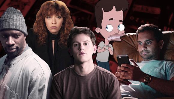 Series en Netflix. (Diseño: El Comercio)