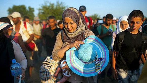Unicef: El 60% de refugiados en Europa son mujeres y niños