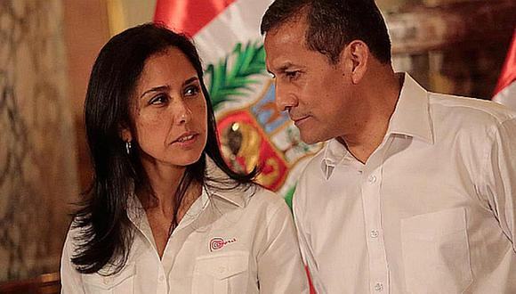 Nadine Heredia y Ollanta Humala. (Foto: Archivo)