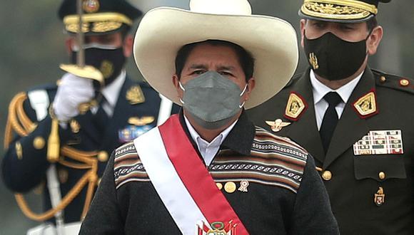 El presidente Pedro Castillo fue reconocido como jefe supremo de las Fuerzas Armadas. (Foto: archivo Presidencia)