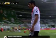 River Plate vs. Palmeiras: Robert Rojas fue expulsado por ingenua falta en semifinales de Copa Libertadores | VIDEO