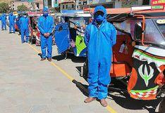 Cusco: Mototaxistas de Anta implementan protocolos sanitarios para retomar actividades