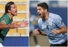 Uruguay vs. Bolivia en directo: incidencias y minuto a minuto del duelo por la Copa América 2021