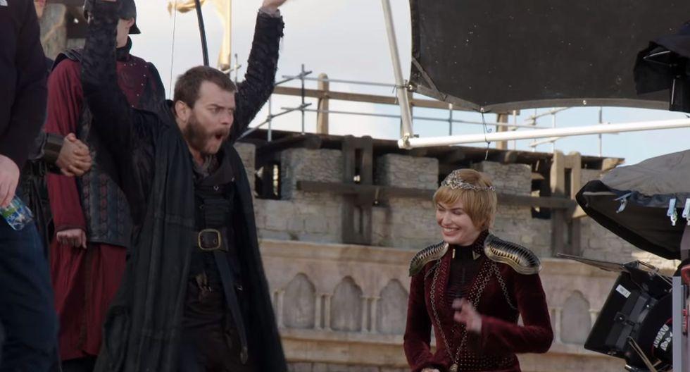 """Imágenes del detrás de cámaras de """"Game of Thrones"""". (Foto: HBO)"""
