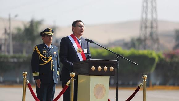 Martín Vizcarra aseguró que seguirán luchando contra la corrupción como objetivo central de su gobierno. (Foto: Difusión)