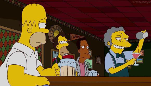 Disney+ llega a Latinoamérica… sin las primeras temporadas de Los Simpson. (Foto: Fox).