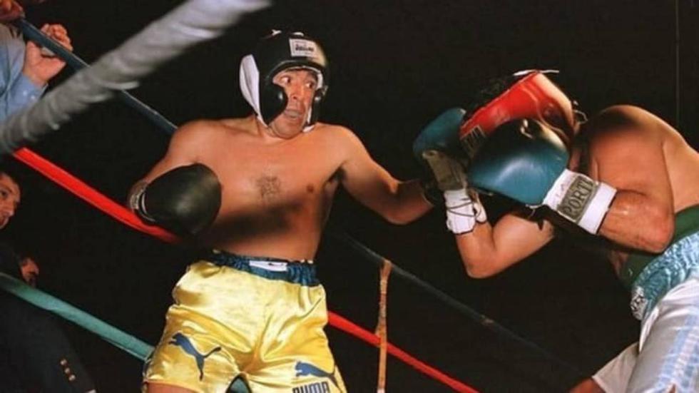 El mundo del boxeo también recuerda con gran nostalgia aquella pelea que mantuvo el mítico '10′ en el año de 1996. (Foto: Twitter)