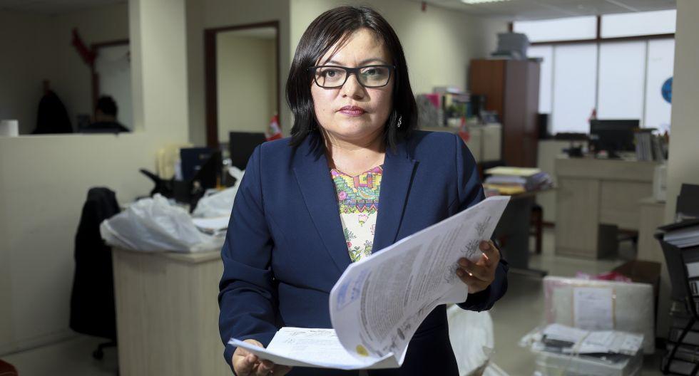 La fiscal Geovanna Mori viajará a Brasil para interrogar a exfuncionarios de Odebrecht, en el marco de la investigación a Félix Moreno por la Costa Verde del Callao. (Foto: Juan Ponce / Archivo El Comercio)
