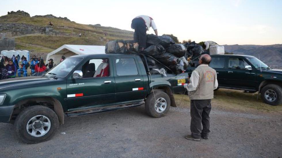 Inti Raymi en Sacsayhuamán dejó más de 25 toneladas de basura - 2