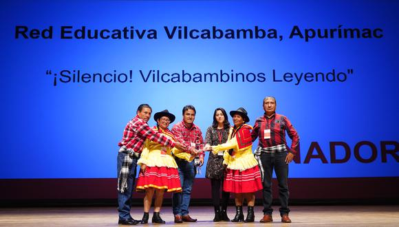 La Red Educativa Vilcabamba ganó el premio en la categoría Educación.