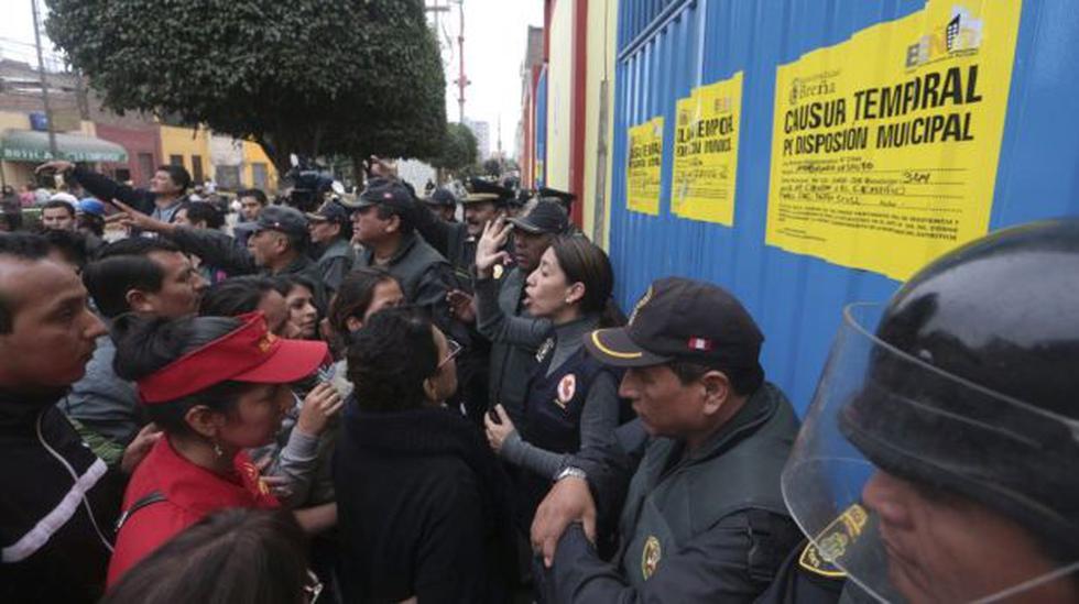 Breña: comerciantes no podrán ingresar hasta la próxima semana - 1