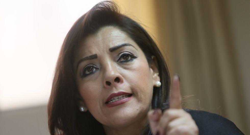 Alejandra Aramayo criticó las negociaciones que sus bancadas habrían tenido antes de la votación en la Comisión de Constitución (FOTO: GEC)