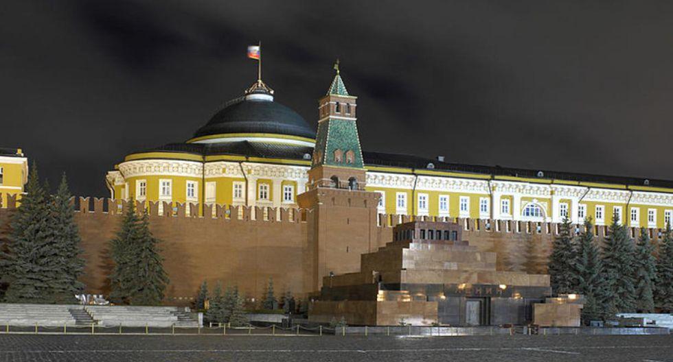 Mausoleo de Lenin. Es la tumba de Vladimir Ilich Ulianov, más conocido como Lenin. Este mausoleo se encuentra en la Plaza Roja de Moscú. (Foto: Godot13 / Wikimedia Commons)