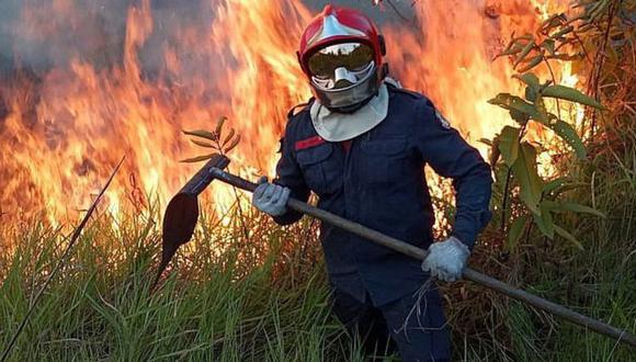 Pese a las medidas implementadas por el gobierno brasileño, se han registrado durante el fin de semana nuevos focos de incendios, dice el INPE. Foto: EPA, vía BBC Mundo