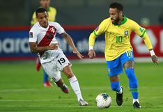 Perú pierde sobre el final ante Brasil por Eliminatorias Qatar 2022 [VIDEO]