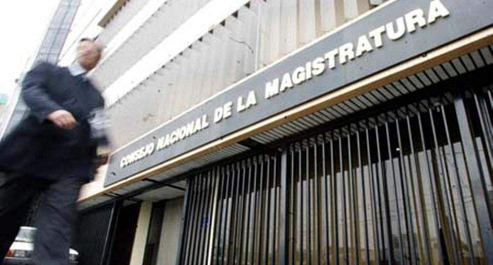 Proyecto de ley propone declarar emergencia hasta por nueve meses el CNM para su evaluación y reestructuración. (Foto: Agencia Andina)