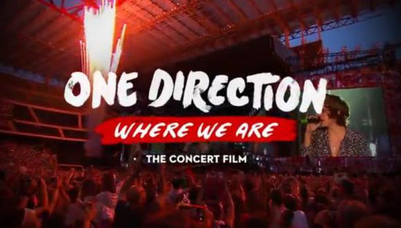 One Direction estrenará nueva película en octubre