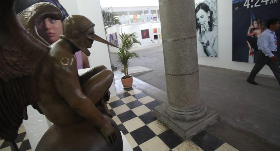 Las obras de varios creadores del Perú y el extranjero se exhibirán del 4 al 7 de abril en la feria Art Lima. (Foto: Dante Piaggio/ El Comercio)