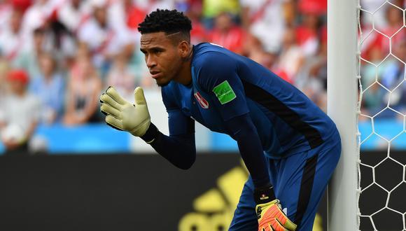 """Ya incorporado a la pretemporada del Veracruz, el '1' de Perú hace su balance del Mundial Rusia 2018. """"Jugamos de igual a igual contra todos los equipos. No nos achicamos con los favoritos"""", dijo. (Foto: AFP)"""