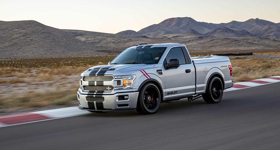 Shelby ofrece dos versiones preparadas sobre la base del Ford F-150. La primera, Raptor, ofrece 525 HP. La segunda, Super Snake, alcanza los 770 HP. (Fotos: Shelby).