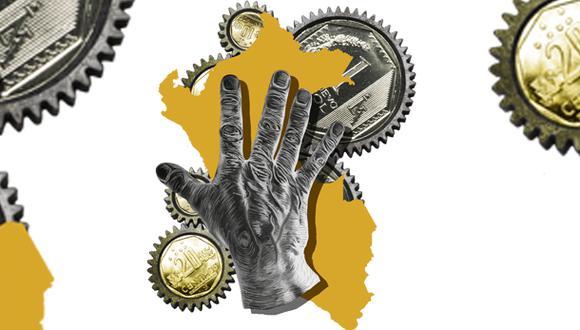"""""""¿Cómo se llama el sistema económico que le está permitiendo a la gente salir poco a poco, pero masivamente, de la pobreza? Se llama economía de libre mercado"""". (Ilustración: Giovanni Tazza)"""