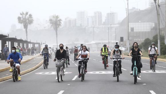 Se restringirá el tránsito vehicular en la Costa Verde los sábados y domingos. (Foto: Jesús Saucedo/@photo.gec)