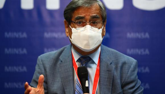 Óscar Ugarte indicó que se ha informado a Reniec de personas que se vacunaron con dosis de Sinopharm para que ya no aparezcan en el padrón de vacunación. (Foto: Archivo de GEC)