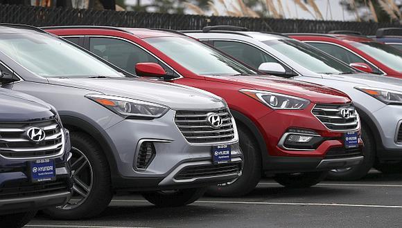 Hyundai revisará 874 vehículos de los modelos Santa Fe y Gran Santa Fe fabricados en el 2017. (Foto: AFP)