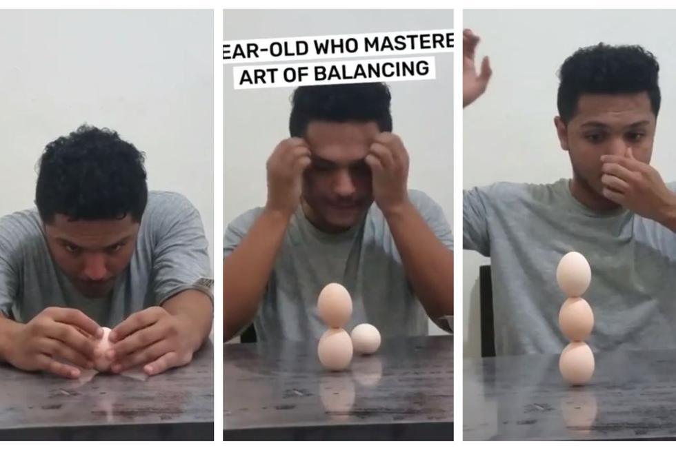 Imágenes del video subido a YouTube.