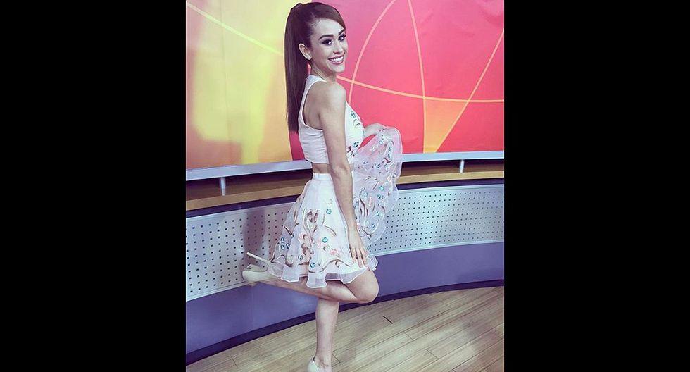 Ya sean diminutas o un poco más largas, las faldas le quedan estupendas a Yanet García. (Foto: Instagram)