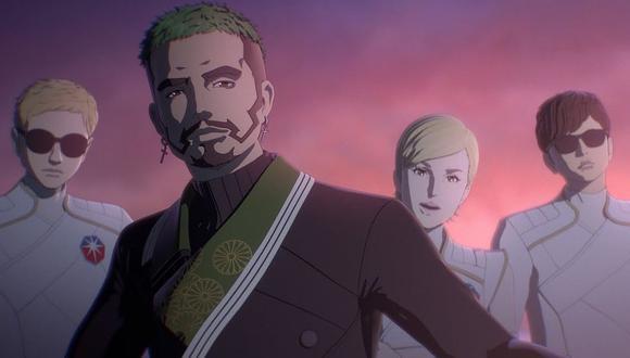 """J Balvin y M-Flo estrenaron """"Human Lost"""", su tema para un anime japonés. (Foto: Captura de YouTube)"""