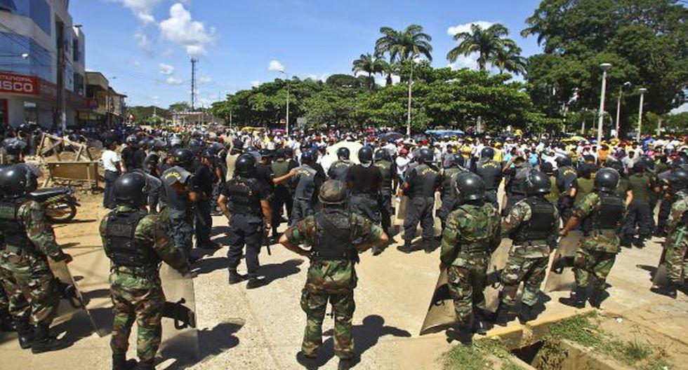 Prorrogan intervención de Fuerzas Armadas en tres departamentos