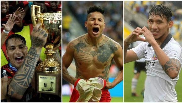 A base de goles acapararon portadas en México, Chile y Brasil, donde un tanto de Guerrero le dio el Torneo Carioca a Flamengo. (Foto: Getty Images/Facebook)
