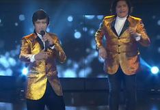 """Yo Soy Perú: """"Dúo Dinámico"""" conmueve al público con su canción """"Oh! Carol"""""""