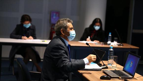 Tomás Gálvez, quien afronta una denuncia constitucional de la fiscal de la Nación, Zoraida Ávalos, se encuentra suspendido en sus funciones de fiscal supremo. La decisión la tomó la Junta Nacional de Justicia. (Foto: Hugo Curotto / GEC)