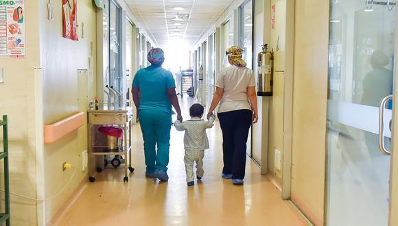 En el Perú unos 1.800 niños son diagnosticados con cáncer cada año. (Foto: INSN San Borja)