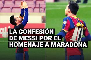 La confesión de Messi a Maxi Rodríguez por el homenaje a Maradona con la camiseta de Newell's